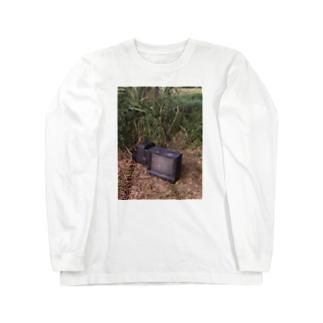 雛.のTV Long sleeve T-shirts