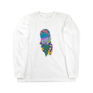 TOKETA BANANAのICECREAM Long sleeve T-shirts