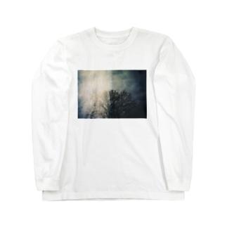 木射 Long sleeve T-shirts