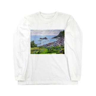 能生海岸 Long sleeve T-shirts