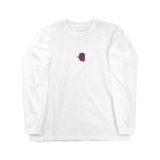 恋する心臓くん Long sleeve T-shirts