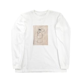 ヘタクソな埴輪 Long sleeve T-shirts