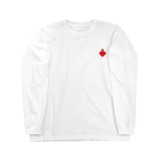 心の現在地 Long sleeve T-shirts