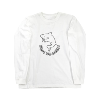屋台 urukaのSAME NO OBAKE Long sleeve T-shirts