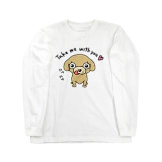 ミリススタイルのTake me with you!! Long sleeve T-shirts