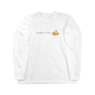 ミケ猫たいやき Long sleeve T-shirts