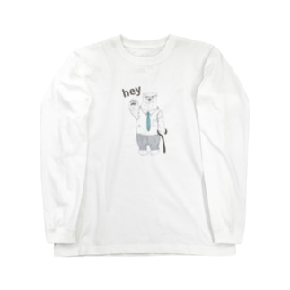 シロクマ先生 Long sleeve T-shirts