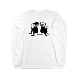 yajicongoodayのa break Long sleeve T-shirts