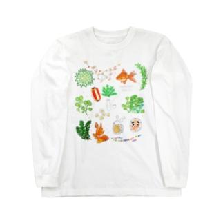 ヨシオカ ナコ Long sleeve T-shirts