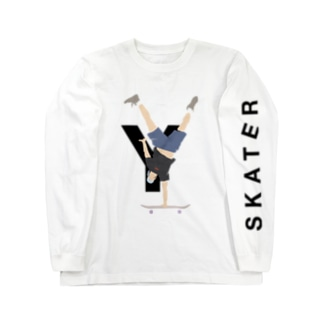 SKATER [Y] Long sleeve T-shirts