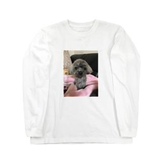 autunnoのきのこみたいなモコ Long sleeve T-shirts