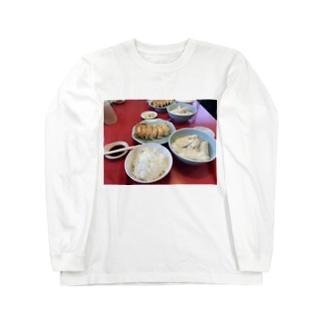 009の餃子NOMIYA Long sleeve T-shirts