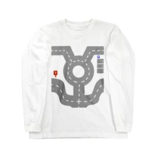 道路 Long sleeve T-shirts