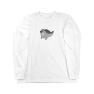 アザラシくん Long sleeve T-shirts