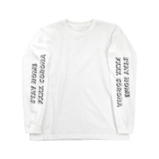 StayHome,Fxxk CORONA Long sleeve T-shirts