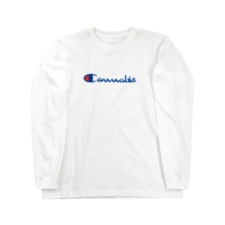 カンナビス Long sleeve T-shirts