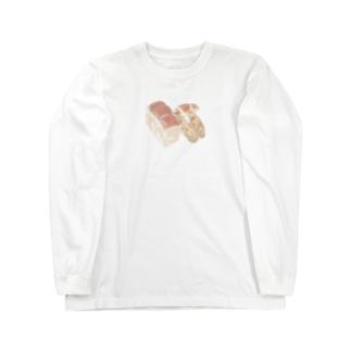 パン屋さん Long sleeve T-shirts