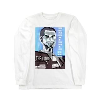 若かりし頃の仙台四郎 Long sleeve T-shirts