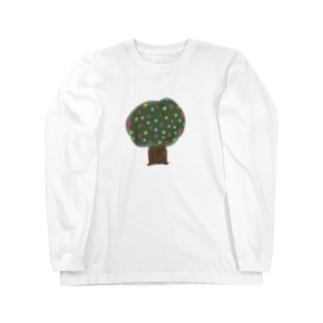 しわーせの樹 Long sleeve T-shirts