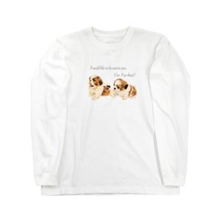 puppy Shih Tzu🐶 Long sleeve T-shirts