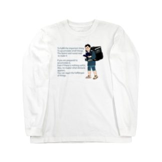 Uber金次郎 Long sleeve T-shirts