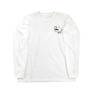 ひげくん Long sleeve T-shirts