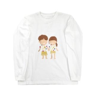 カップル Long sleeve T-shirts