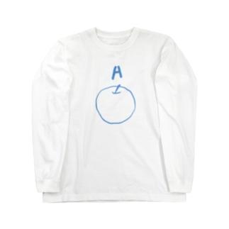 [A]APPLE Long sleeve T-shirts