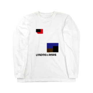 LONPARI 8BITS 「GEEEEO」 Long sleeve T-shirts