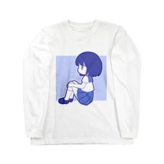 セーラー服ちゃん Long sleeve T-shirts
