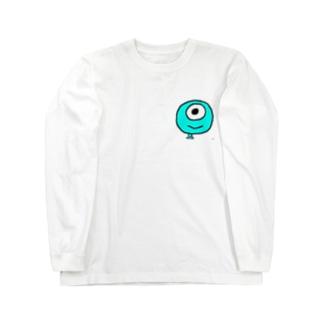 未確認生物ムンムン エヘッ Long sleeve T-shirts