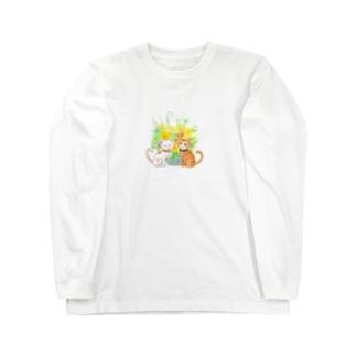 ちゃんでぃちゃんたち★ Long sleeve T-shirts