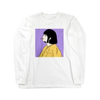 喫煙ちゃん3 Long sleeve T-shirts