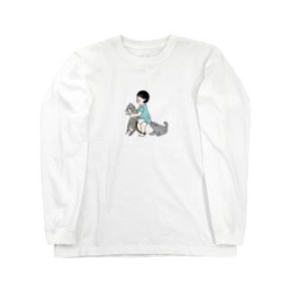 tabiharuの幼なじみ Long sleeve T-shirts
