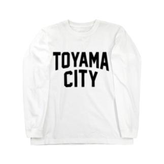 toyama city 富山ファッション アイテム Long sleeve T-shirts