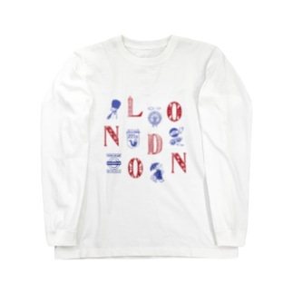 Cities in the World - London (Union Jack) Long sleeve T-shirts