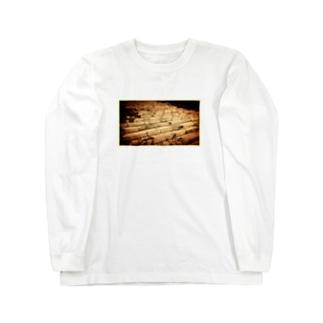 Stone steps Long sleeve T-shirts