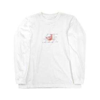 カニさんどいてくれ~ Long sleeve T-shirts