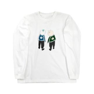 スカジャン Long sleeve T-shirts