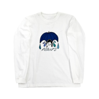 雨でも元気 Long sleeve T-shirts