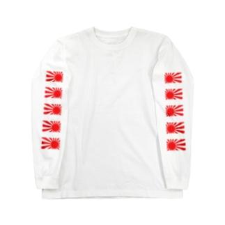 FUK BRAND 日章旗 Long sleeve T-shirts