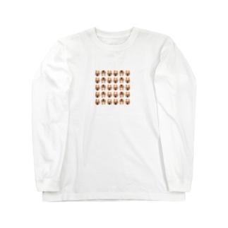 ゴハンくん Long sleeve T-shirts