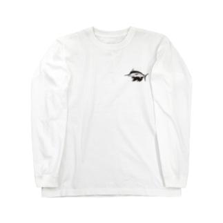 シンプルクロカジキ Long sleeve T-shirts