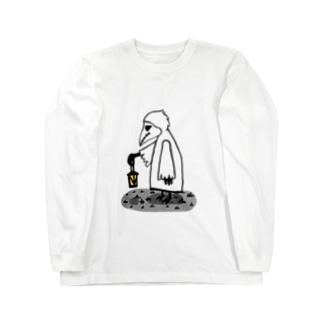 案内人 Long sleeve T-shirts