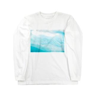 液体彫刻 Long sleeve T-shirts
