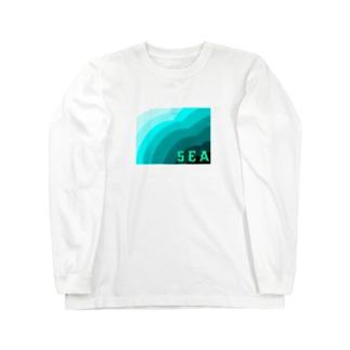 ウミ Long sleeve T-shirts
