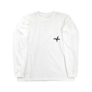 Ms Amaryllis tagging logo  Long sleeve T-shirts