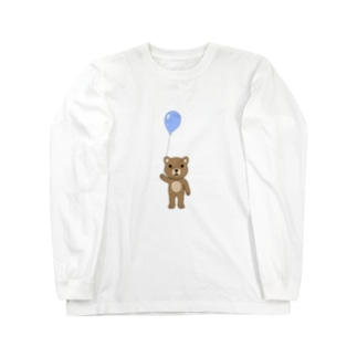 クマ Long sleeve T-shirts