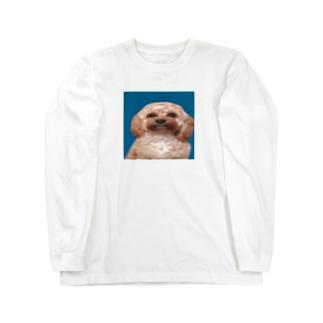 名前はもうついておる Long sleeve T-shirts