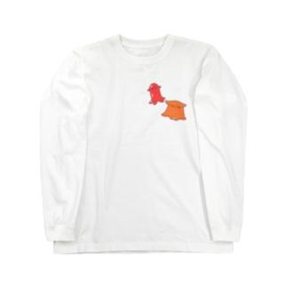 メンダコとメンダコさんウィンナー Long Sleeve T-Shirt